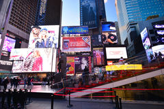 Times square new York Stock Photos
