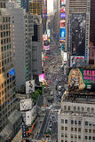 Times Square in New York. New York, USA on 3rd Sept 2015:Times Square is a major commercial intersection and neighborhood in Mid Manhattan at the junction of Stock Images