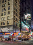 Times Square in New York. New York, USA on 5th Sept 2015:Times Square is a major commercial intersection and neighborhood in Mid Manhattan at the junction of Royalty Free Stock Image