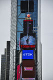 Times Square New York. Various international companies displaying their names on billboards and in lights in Times Square New York City stock image