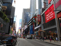 Times Square, New York. Stock Photos