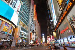 Times Square at night in 2011, New York City Stock Photos