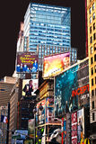 Times Square by night Royalty Free Stock Photography