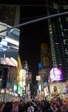 Times Square night life. Manhattan Times Square night life Stock Photos