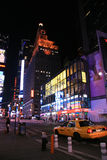 Times Square at Night, New York stock photos