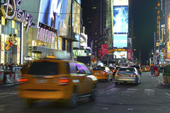 Times Square at night, New York City Stock Photography