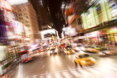 Times Square at Night Stock Photography