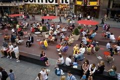 Times Square novo 6 foto de stock