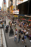 Times Square novo 7 imagem de stock