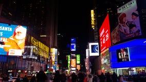 TIMES SQUARE NUEVA YORK 2019 foto de archivo libre de regalías