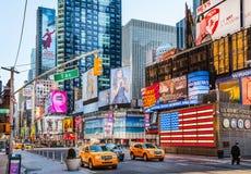 Times Square Nueva York Fotos de archivo libres de regalías
