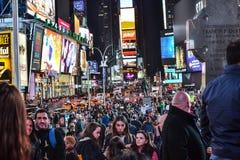 Times Square Nueva York fotografía de archivo libre de regalías