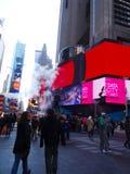Times Square, Nueva York Imágenes de archivo libres de regalías