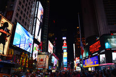 Times Square Nueva York Imagen de archivo libre de regalías