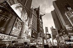 Times Square, Nueva York, los E.E.U.U. Fotografía de archivo libre de regalías