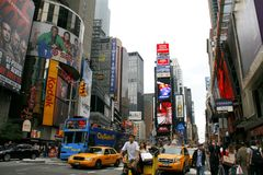 Times Square, NYC Royalty Free Stock Images