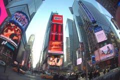 Times Square NYC stockbild