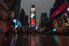 Times Square in NYC stockfoto