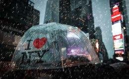 Times Square in NYC royalty-vrije stock foto's