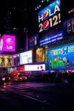 Times Square, NYC 2012 Fotografía de archivo