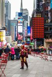 Times Square NYC Fotografia de Stock Royalty Free
