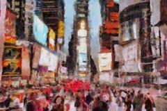 Times Square NYC Fotografia Stock Libera da Diritti