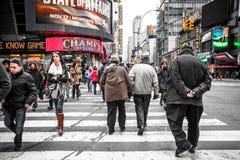 Times Square NYC Imagen de archivo
