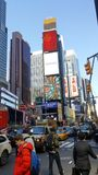 Times Square NYC Photographie stock libre de droits