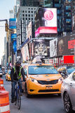 Times Square NYC Stock Photo