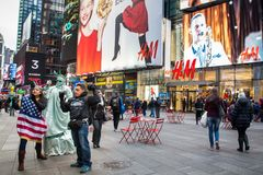 Times Square NYC Royalty Free Stock Photos