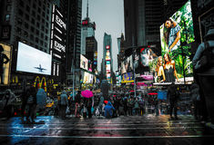 Times Square in NYC Royalty Free Stock Photos
