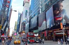 Times Square på den 7th avenyn Royaltyfria Foton