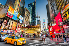 Times Square Scene Stock Photography