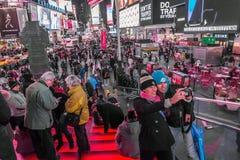Times Square Selfie Obraz Stock