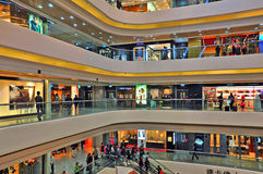 Times square shopping mall, hong kong Royalty Free Stock Image