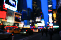 The Times Square -special effect Stock Photo