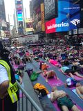 Times Square sport Stock Image