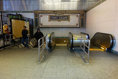 New York City Subway Station Royalty Free Stock Photography