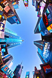 Times Square is a symbol of New. NEW YORK CITY - JUL 8: Times Square, featured with Broadway Theaters and huge number of LED signs, is a symbol of New York City