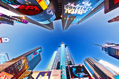 Times Square is a symbol of New York Stock Image