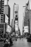 Times Square tôt de matin Photos stock