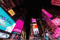 Times Square teatru Broadway Manhattan Gromadzcy punkty zwrotni Nowy Y obrazy stock