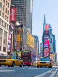 Times Square Traffic Stock Photo