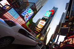Times Square traffic Royalty Free Stock Photography