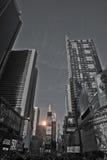 Times Square vóór Oudejaarsavond, 2014 Stock Afbeelding