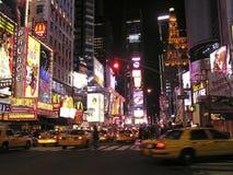 Times Square van New York stock foto's