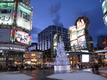 Times Square van Toronto Royalty-vrije Stock Fotografie