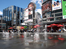 Times Square van Toronto royalty-vrije stock afbeeldingen