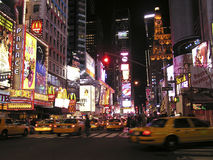 Times Square von New York Stockfotos