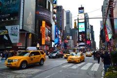 Times Square w Miasto Nowy Jork, NY usa zdjęcie royalty free